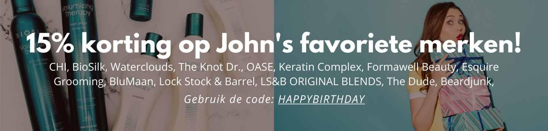 Verjaardag John