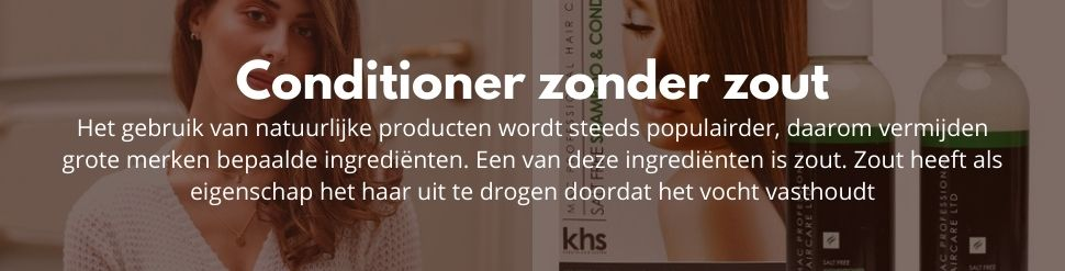 Conditioner zonder zout