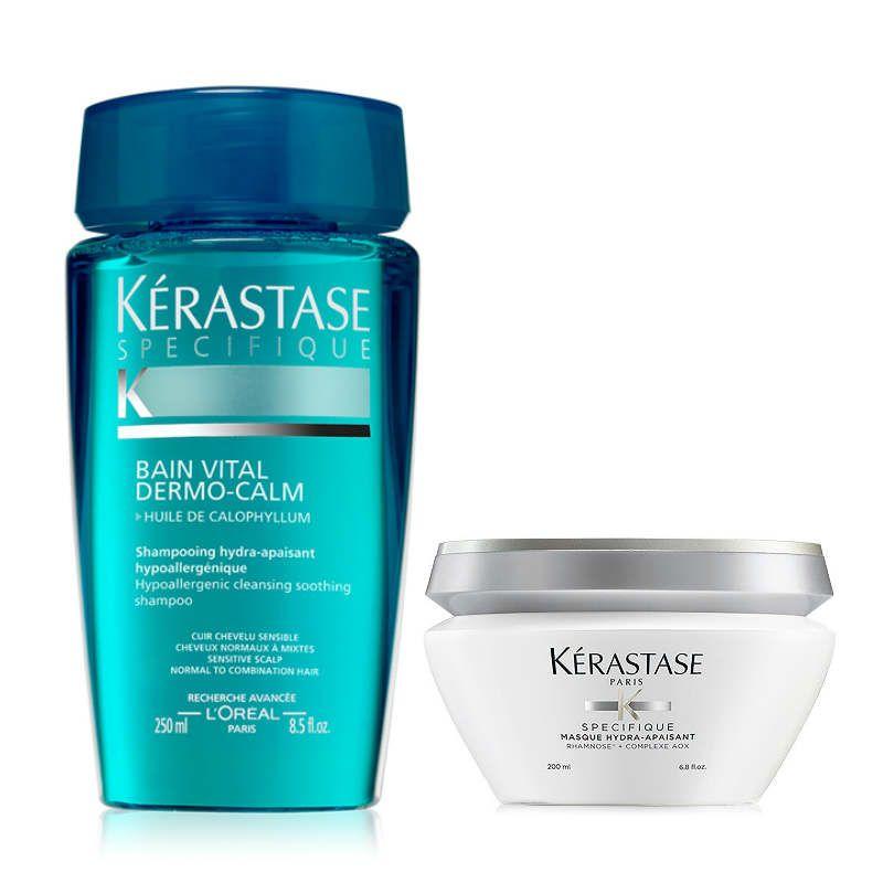 Kérastase Specifique Vital Shampoo + Haarmasker voor een Gevoelige Hoofdhuid
