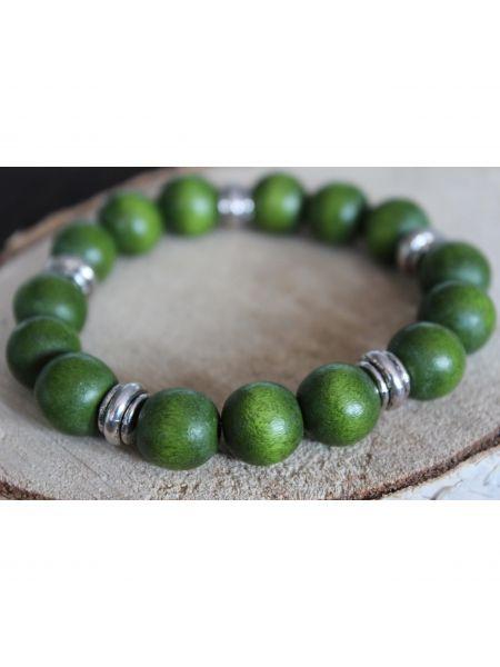 May21 Heren Armband Vasco - olijf groen
