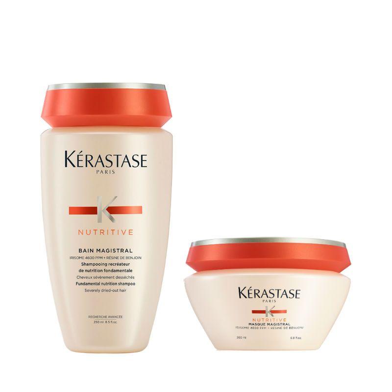 Kérastase Nutritive Magistral Shampoo + Haarmasker voor Zeer Droog Haar
