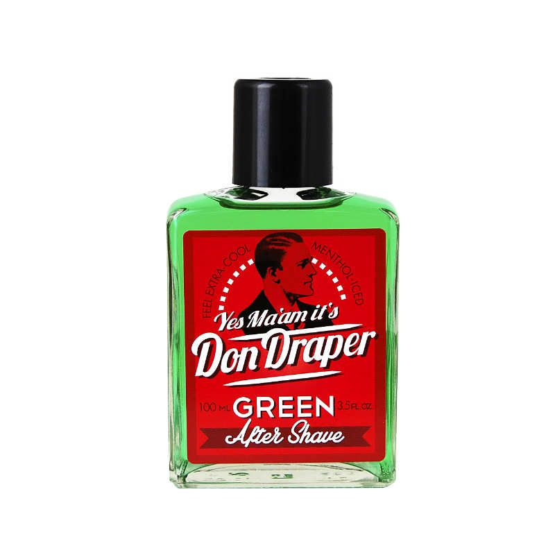 Don Draper Aftershave Groen