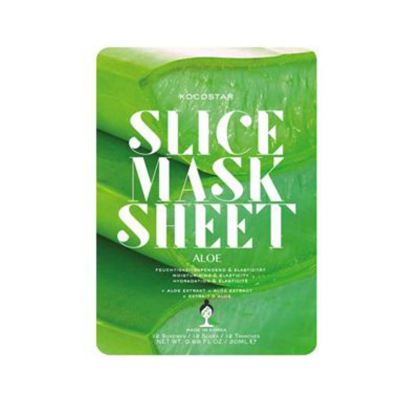 Kocostar Slice Mask Sheet Aloe Gezichtsmasker