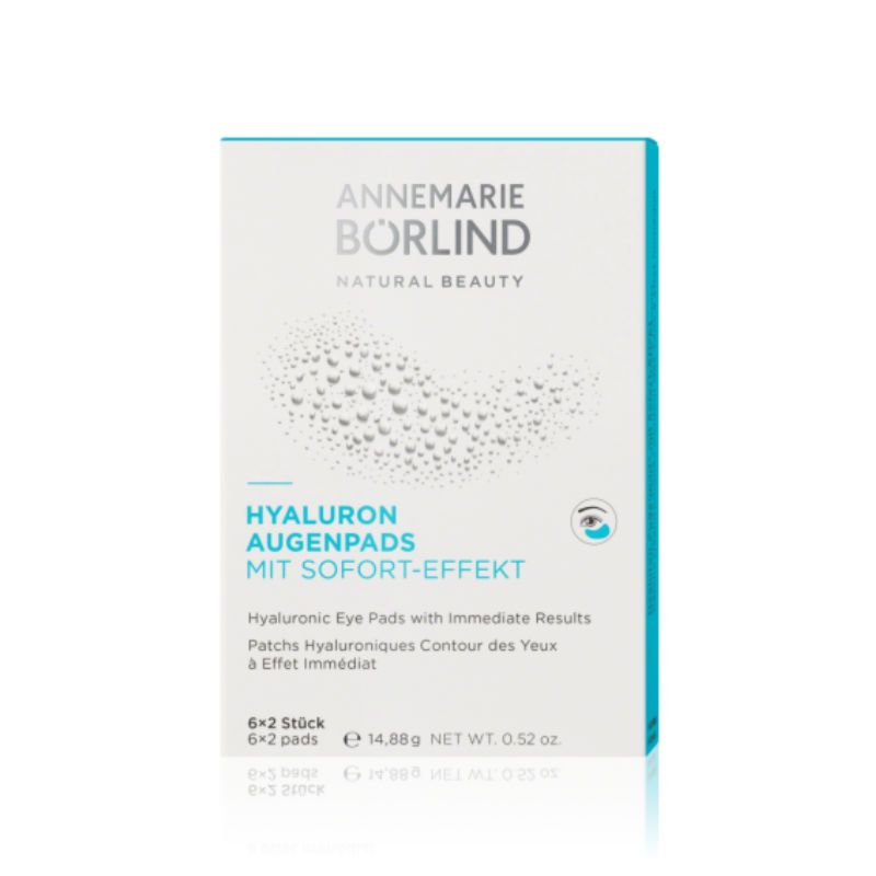 Annemarie Borlind Natural Spa Hyaluronic Eye Pads - 6x2 pads