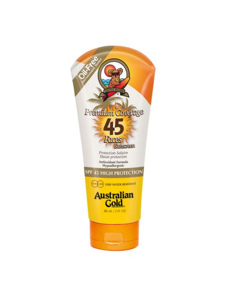 Australian Gold SPF45 Premium Coverage Faces Hypo-Allergeen