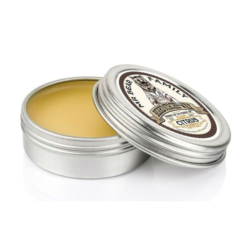 Mr. Bear Family Moustache Wax Citrus