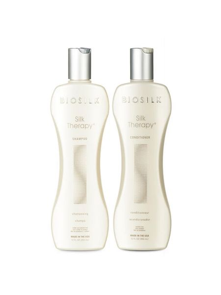 Biosilk Silk Therapy Shampoo + Conditioner