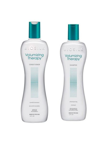 Biosilk Volumizing Therapy Duo Shampoo + Conditioner 355 ml
