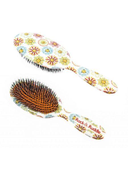 Rock & Ruddle Haarborstel Bloemen En Gezichten