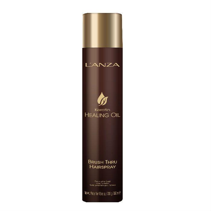 L'anza Healing Oil Brush Thru Hairspray 350 ML