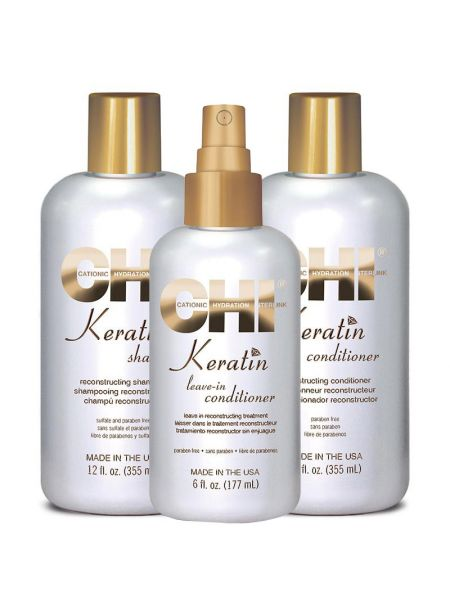 CHI Keratin Rebuild, Revive & Protect Kit