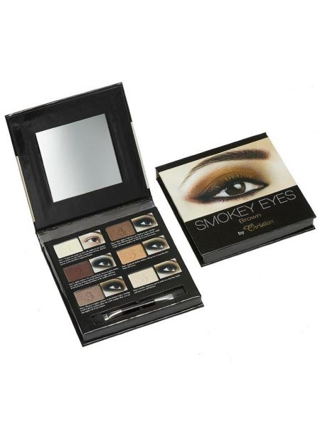 Christian Smokey Eyeshadow Palet Brown