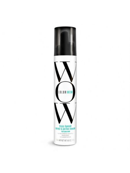 Color Wow Brass Banned Correct & Perfect Mousse For Dark Hair