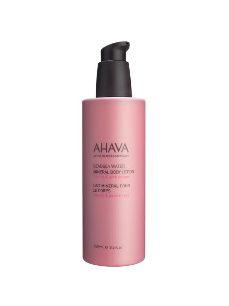 Ahava Mineral Body Lotion Cactus Pink Pepper