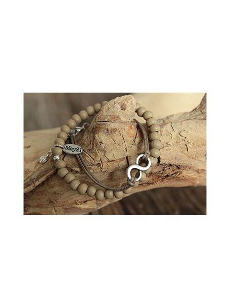May21 Armband Elisa bruin