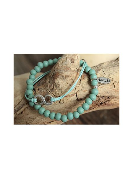 May21 Armband Elisa Mint groen