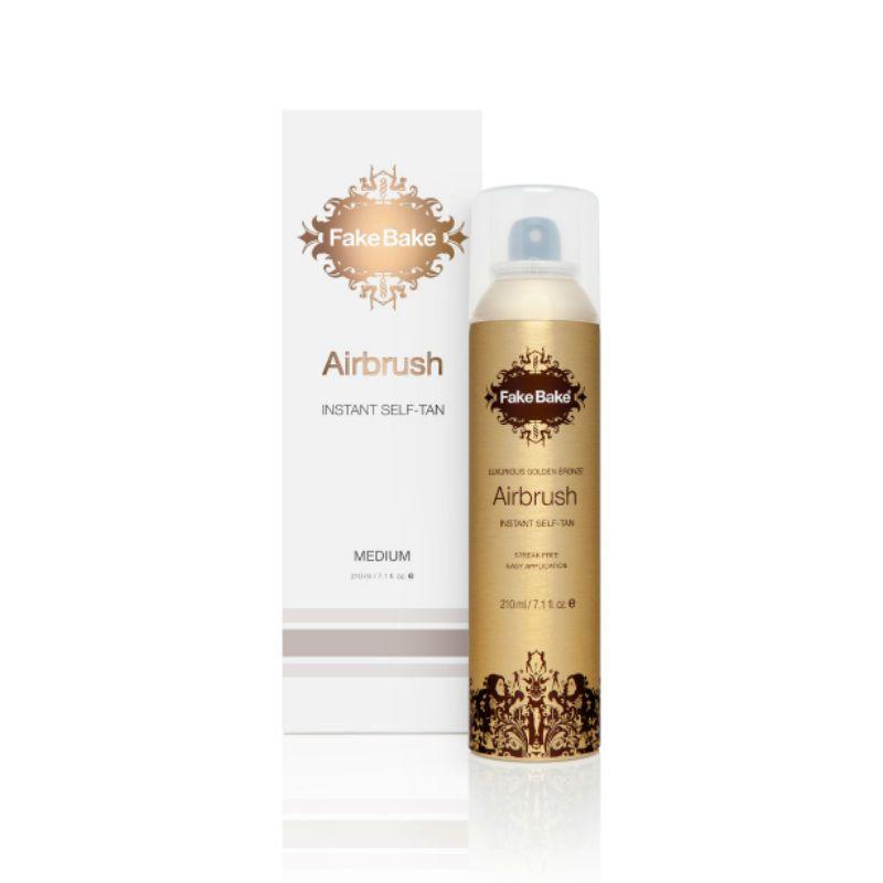 Fake Bake Airbrush Instant Self-Tanning Spray (Aerosol) 210 ml