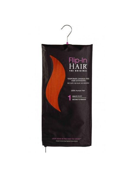 Flip-In Hair Extensions The Original Burnt Orange