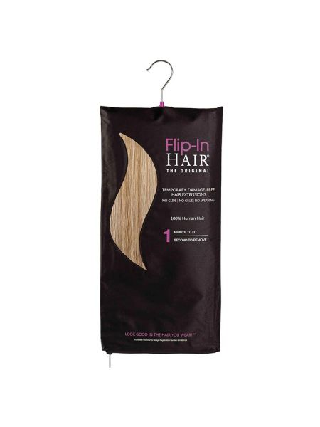 Flip-In Hair The Original Dark Cinnamon/Warm Blonde 10/16