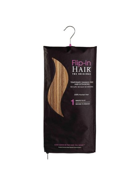 Flip-In Hair Extensions The Original Golden Brown/Butterscotch 6/27