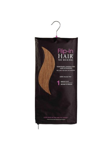 Flip-In Hair Extensions The Original Light Auburn 30