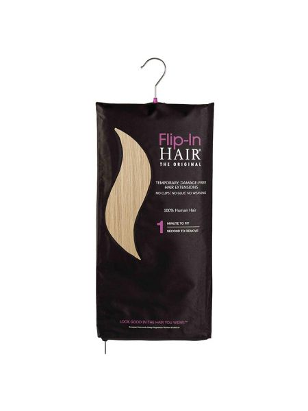 Flip-In Hair Extensions The Original Light Blonde 613