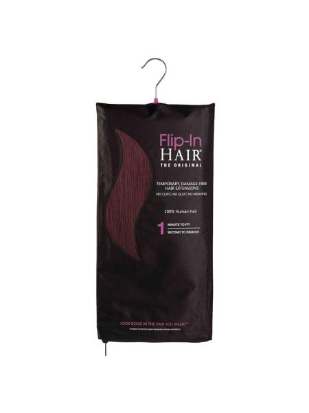 Flip-In Hair Extensions The Original Plum 99