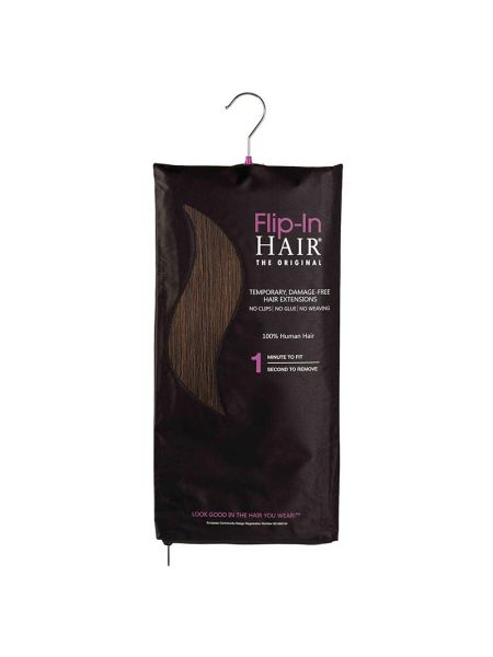 Flip-In Hair Extensions The Original Rich Brown 4