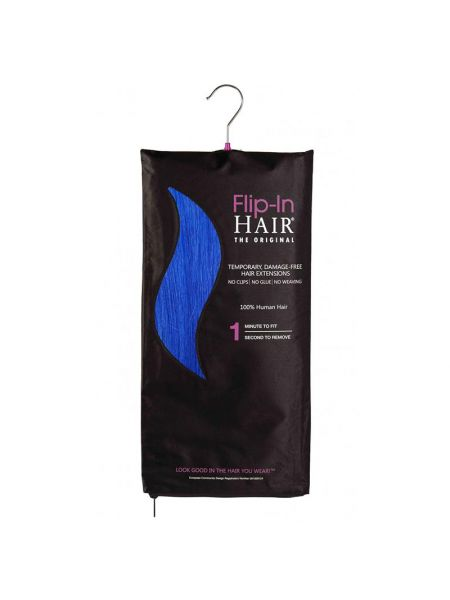 Flip-In Hair Extensions The Original Royal Blue