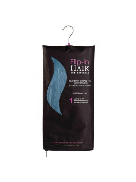 Flip-In Hair Extensions The Original Turquoise