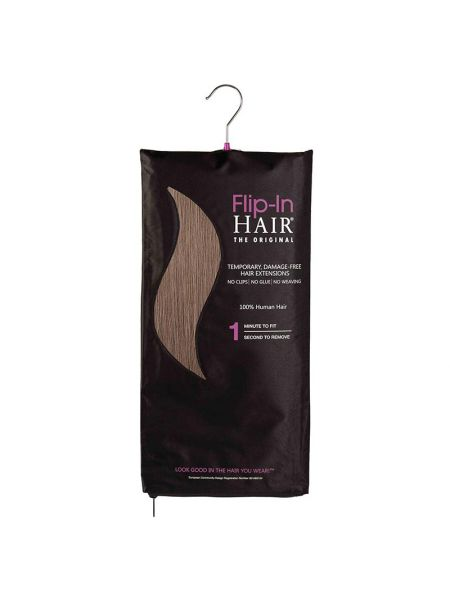 Flip-In Hair Extensions The Original Walnut 9