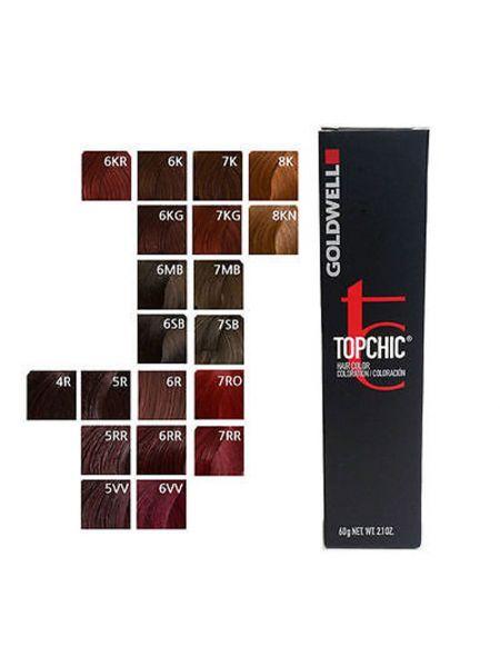 Goldwell Topchic Tube Met Kleurkaart