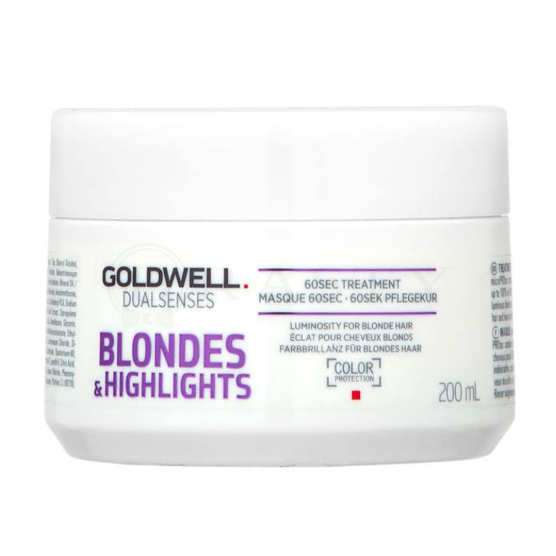 Goldwell Dualsenses Blondes 60sec Treatment