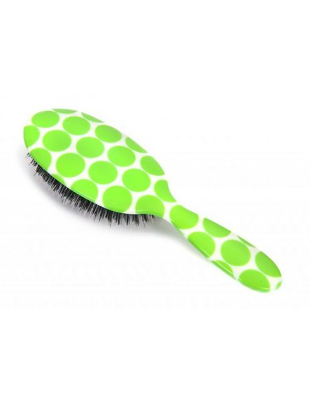 Rock & Ruddle Neon Green Polka Dot