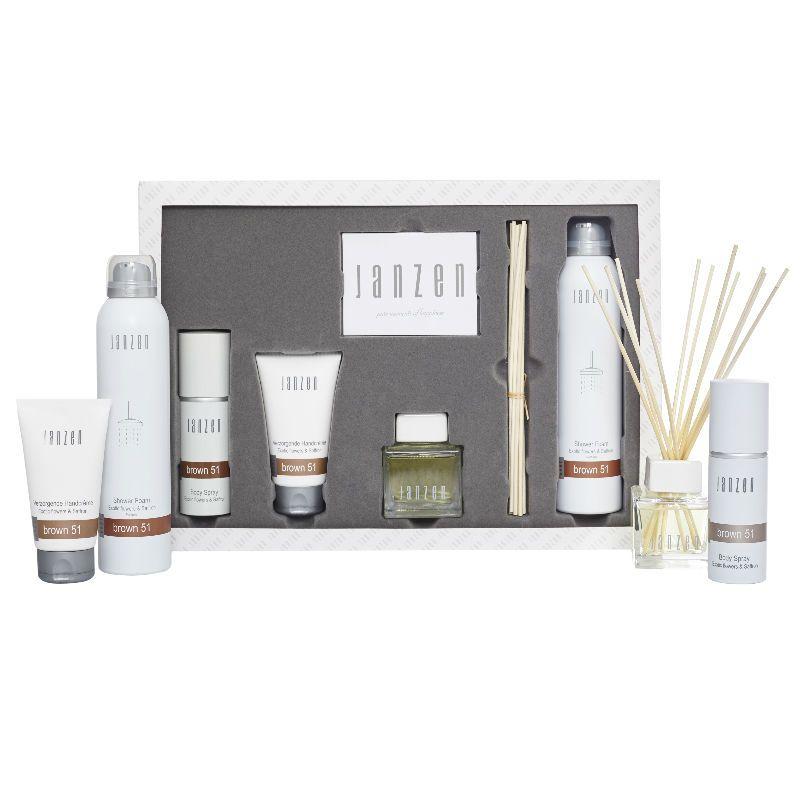 Janzen Home & Beauty Set Brown 51