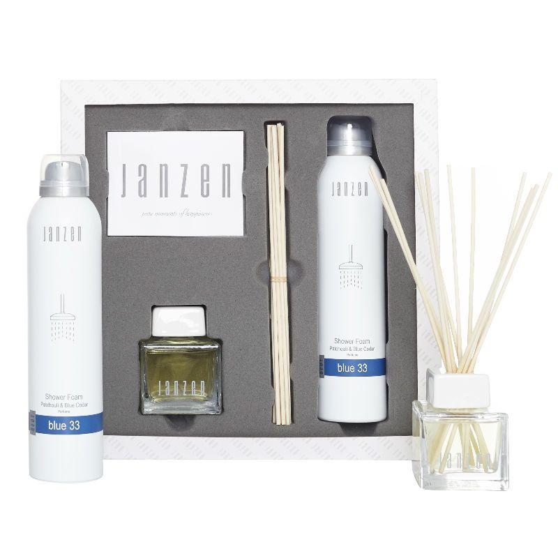 Janzen Home & Body Giftset Blue 33