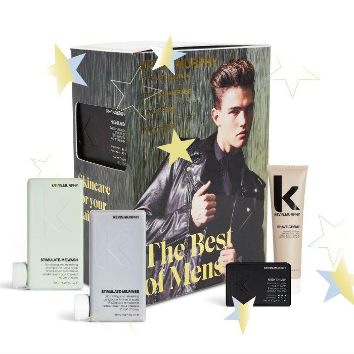 Kevin Murphy Stimulate Me Wash & Rinse + GRATIS Night Rider & Shave Creme