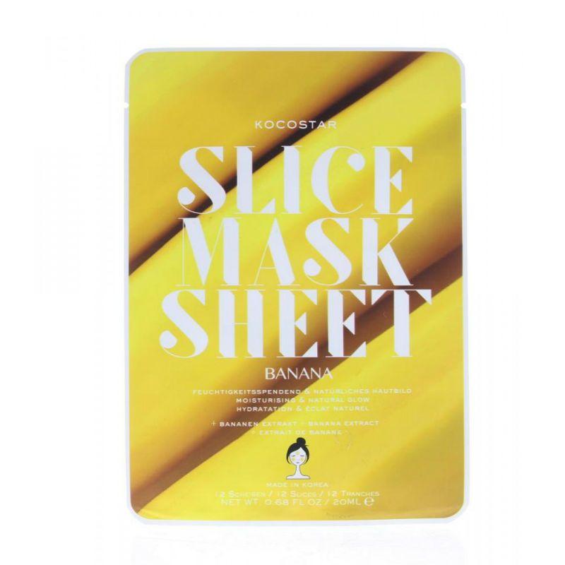 Kocostar Slice Mask Sheet Banana Gezichtsmasker