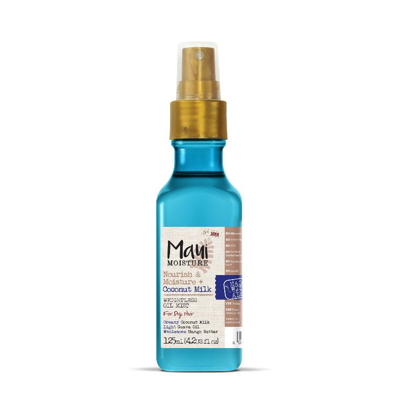 Maui Moisture Nourish & Moisture  Coconut Milk Weightless Oil Mist 125ml