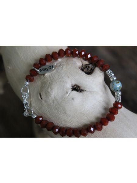 May21 Armband Roja