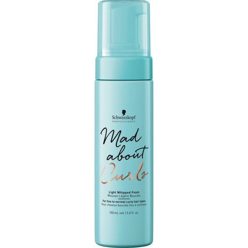 Schwarzkopf Mad About Curls Light Whipped Mousse 150ml