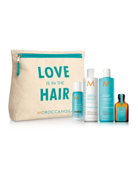 Moroccanoil Love is in the Hair Hydration Kit Dark