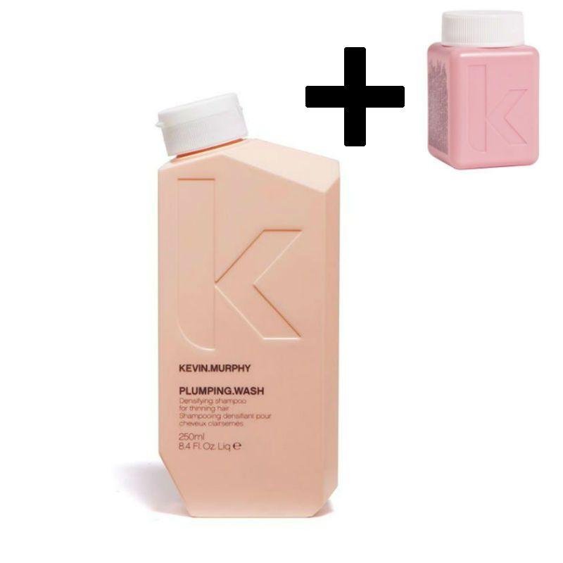 Kevin Murphy Plumping Wash Shampoo + GRATIS Kevin Murphy Plumping Rinse Conditioner 40ml