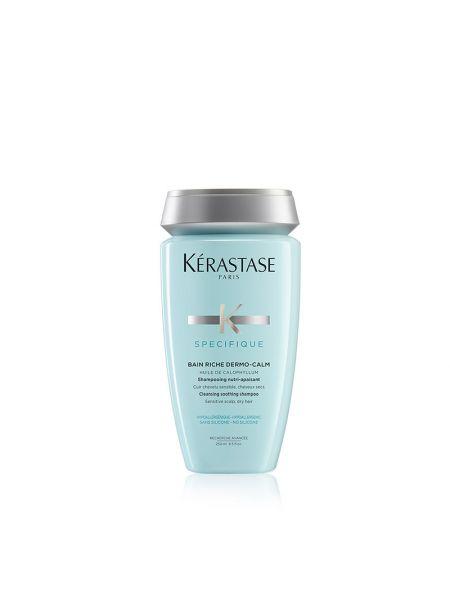Kérastase Specifique Bain Riche Dermo Calm Shampoo voor een Gevoelige Hoofdhuid