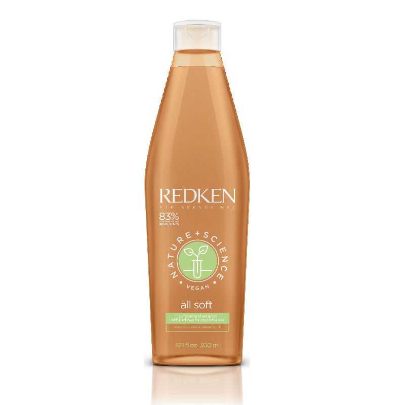 Redken Natural Science All Soft Shampoo 300 ml