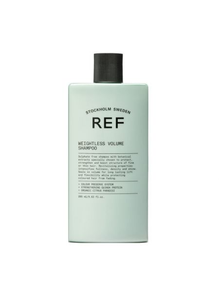 ref weightless volume shampoo 285ml