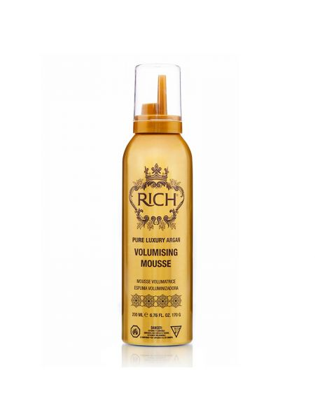 Rich Pure Luxury Argan Volumising Mousse