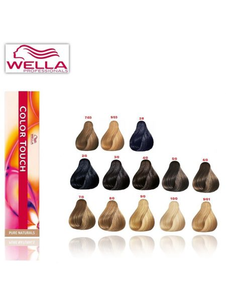 Wella Color Touch Met Kleurkaart