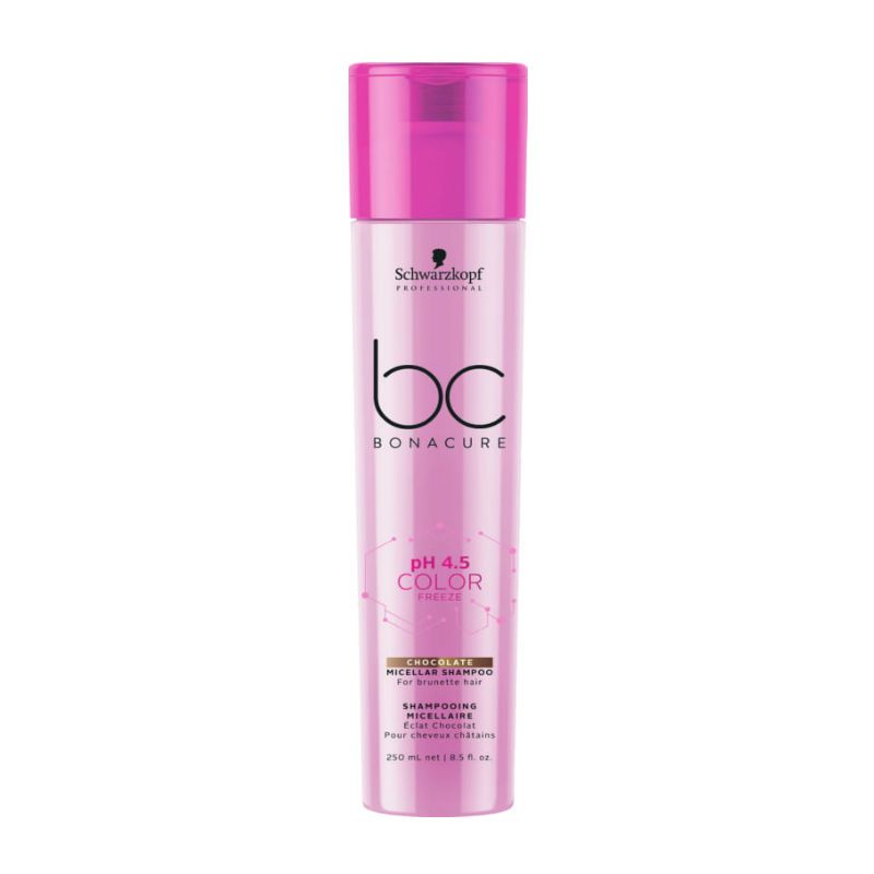 Schwarzkopf BC Bonacure pH 4.5 Color Freeze Chocolate Micellar Shampoo