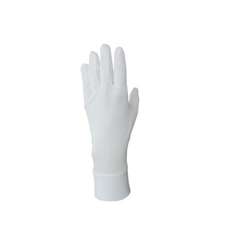 Silk Solutions Zijden Handschoenen Ivoor - S